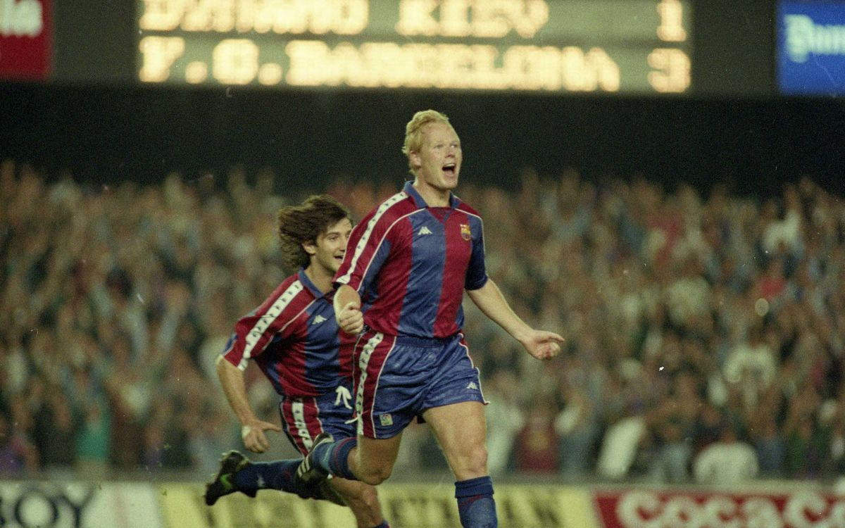 Twenty years since the Barça comeback against Kiev