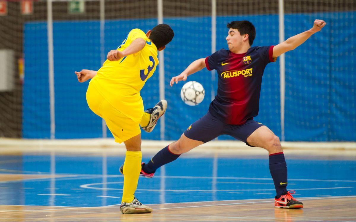 L'equip Juvenil del FC Barcelona guanya l'UD Las Rozas Boadilla als quarts de la Copa d'Espanya