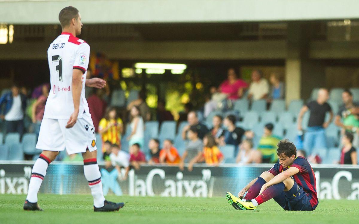 Barça B – RCD Mallorca: Primera derrota al Mini (0-1)