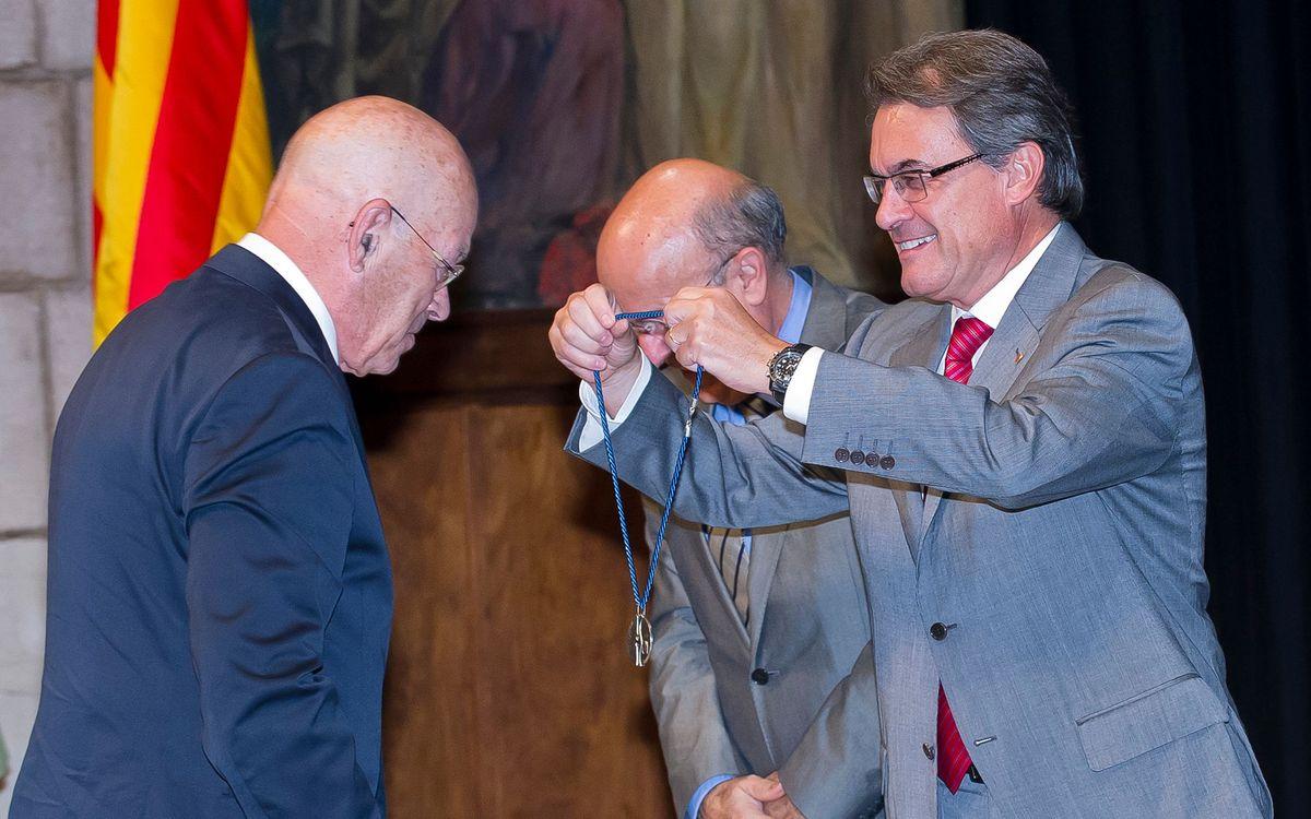 Miquel Albanell, guardonat amb el premi Trueta