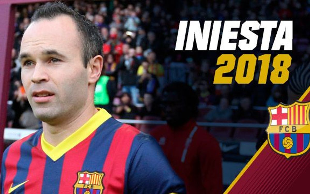 Rosell announces new Iniesta contract until 2018