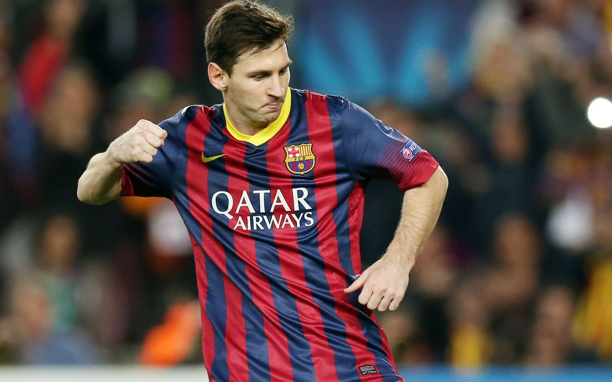 Messi sees FC Barcelona through to last 16