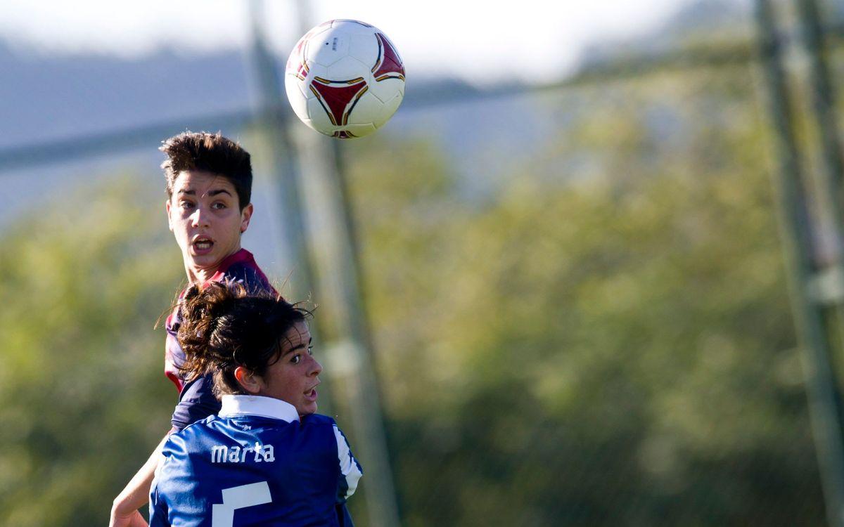 Marta Torrejón ha signat per dues temporades amb el Femení A