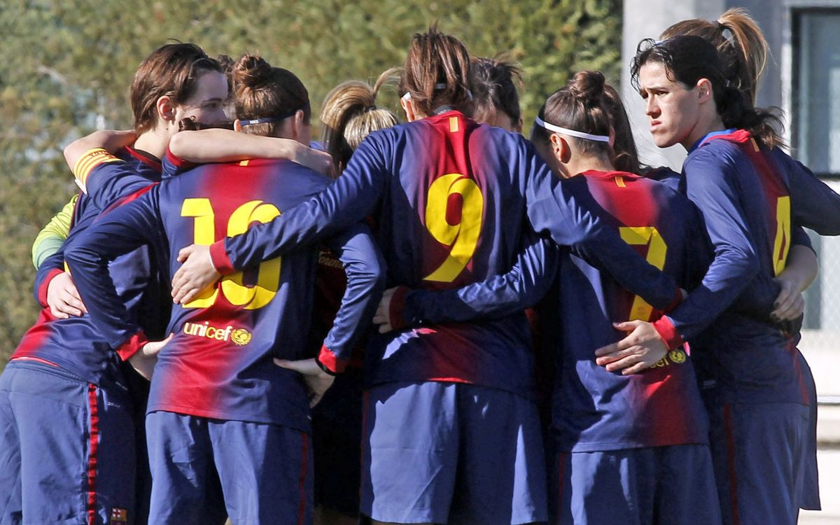 Magnificent play from the FC Barcelona Women's Team against Sevilla
