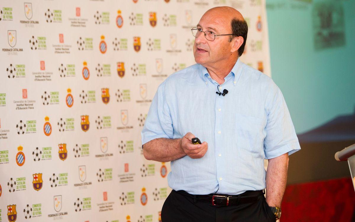 La proposta formativa del planter del Barça, protagonista a la Sala París