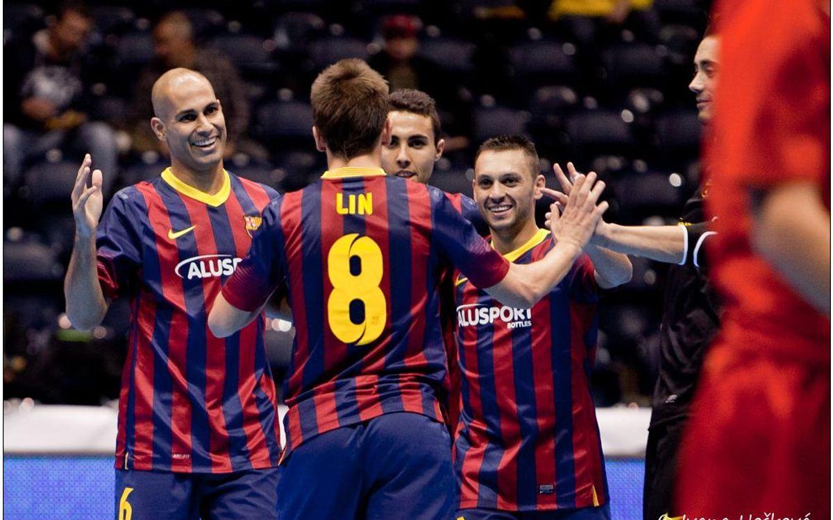 El Kairat Almaty, el Dinamo Moscú i l'Araz, els rivals a la Final a Quatre