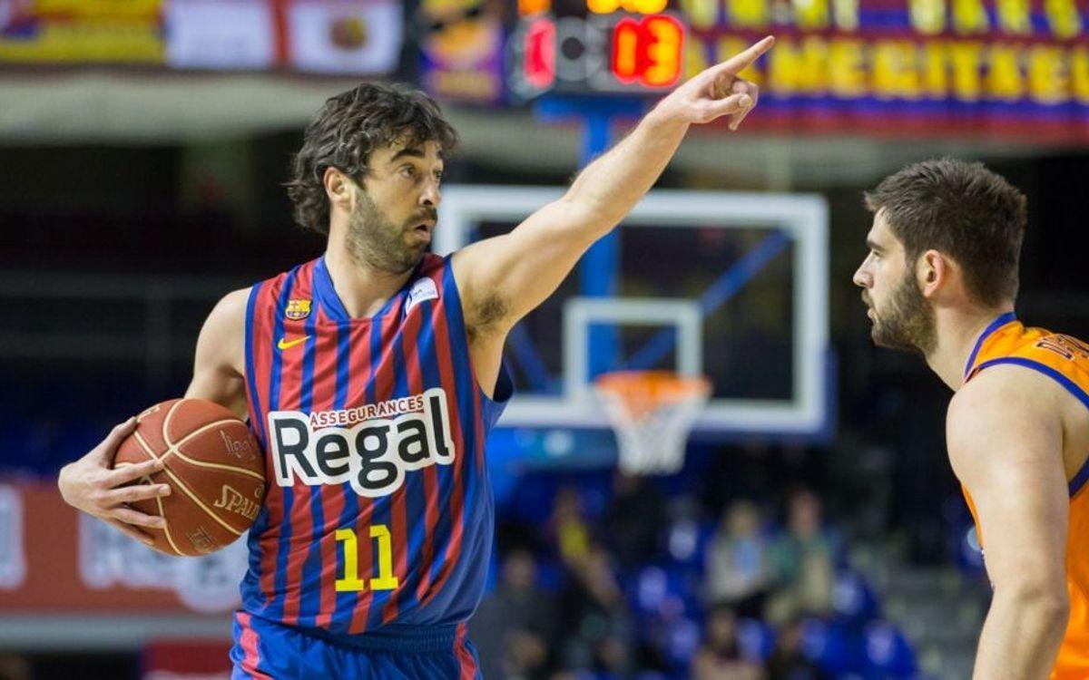 FCB Regal – Valencia Basket: Exhibition at the Palau Blaugrana (94-62)