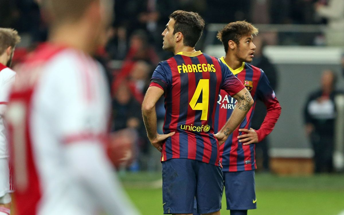 Ajax - FC Barcelona: Primera derrota (2-1)
