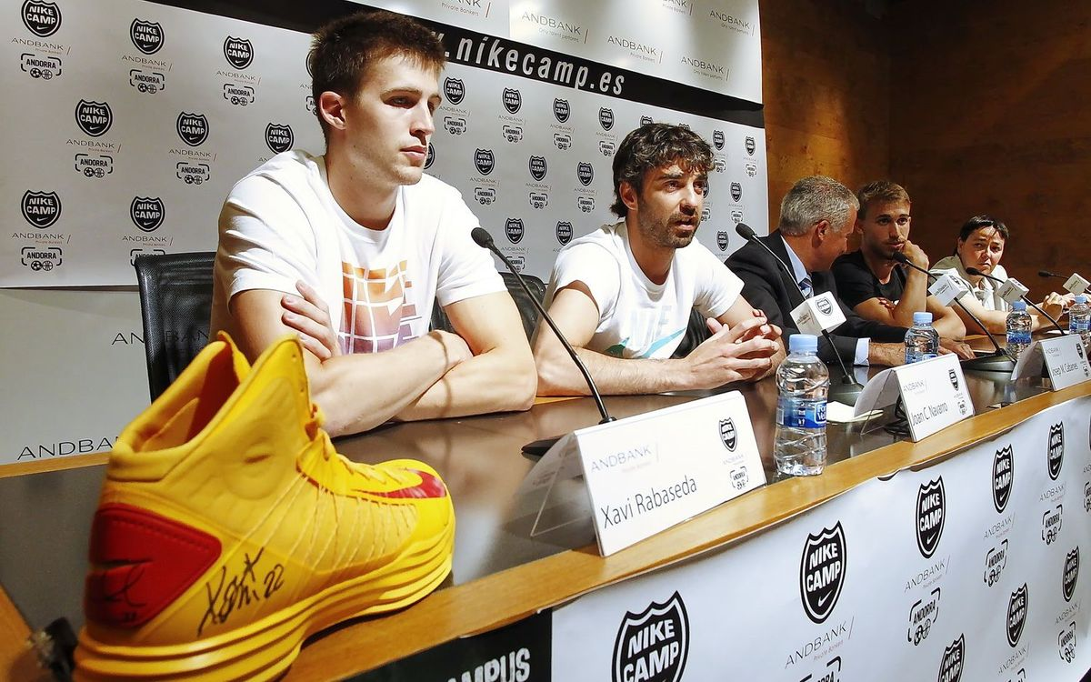 "Xavi Rabaseda: ""Hi ha grans equips en el grup"""