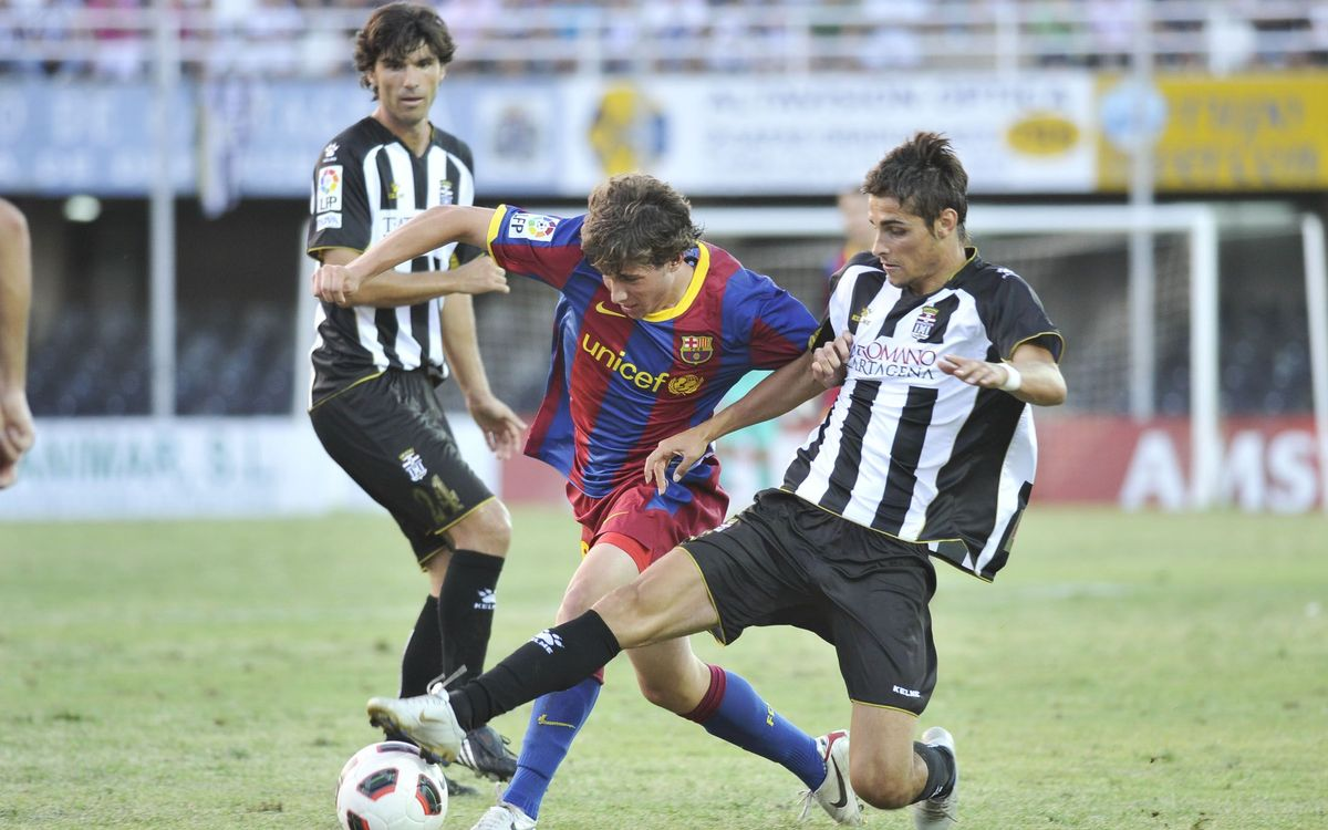 Six Barça players have already faced Cartagena