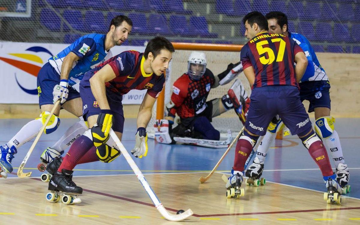 El Barça – ICG Software Lleida, en dos minuts