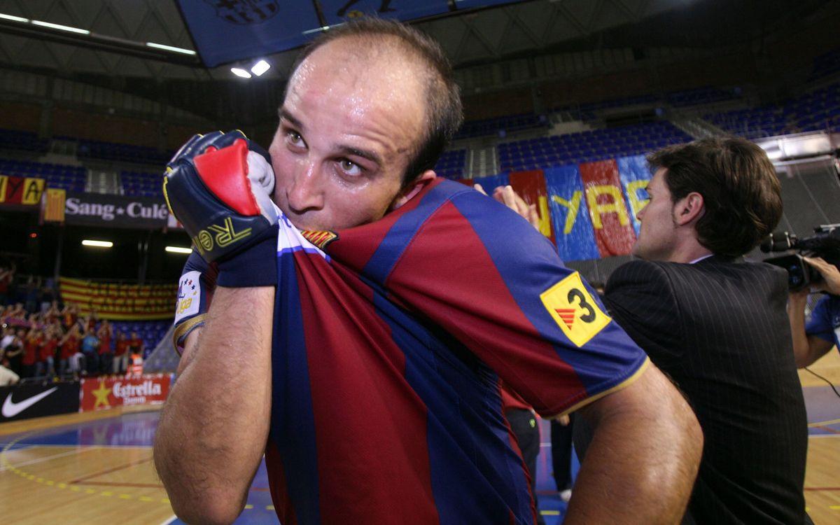L'exblaugrana Carlitos López s'enfrontarà al Barça a les semifinals de la F4