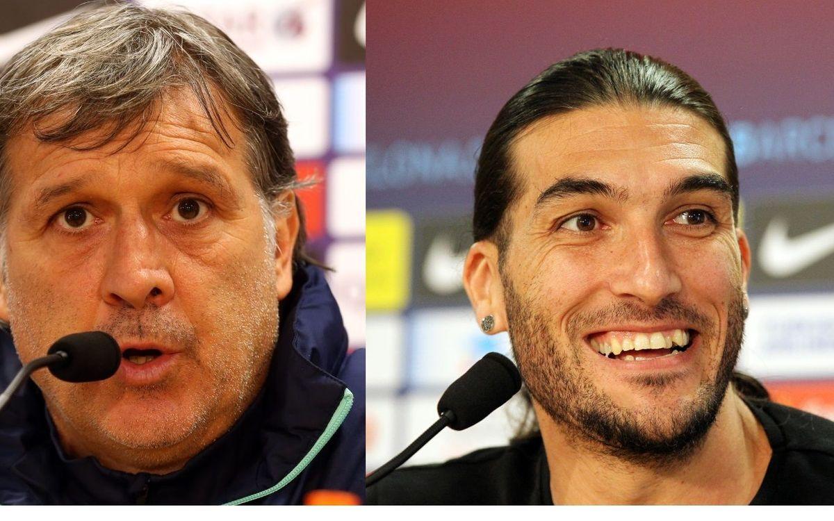 マルティノ「勝つこと以外、考えていない」