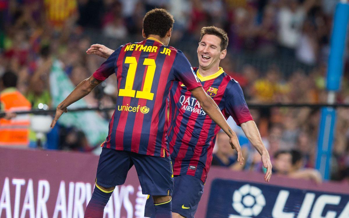 FC Barcelona v R.Sociedad: Barcelona in festival mood (4-1)