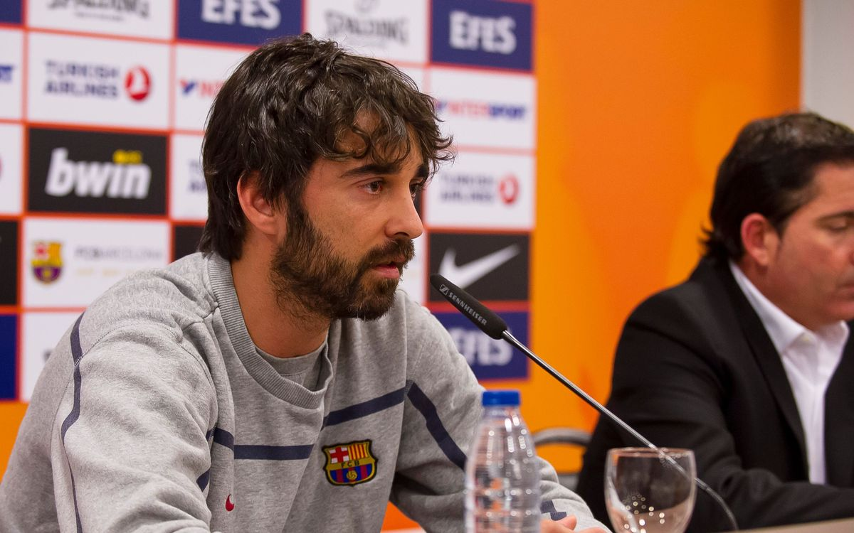 """Juan Carlos Navarro: """"No veo al equipo presionado, veo ganas de hacerlo bien"""""""