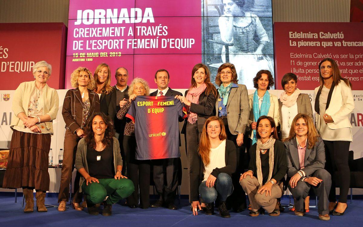 'Creixement a través de l'esport femení': Una jornada profitosa i plena d'èxit