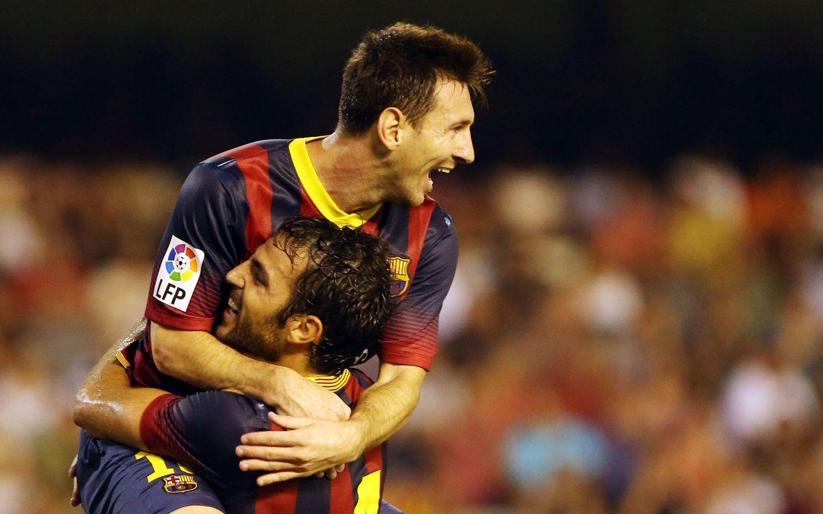 Un Leo Messi de record à Mestalla