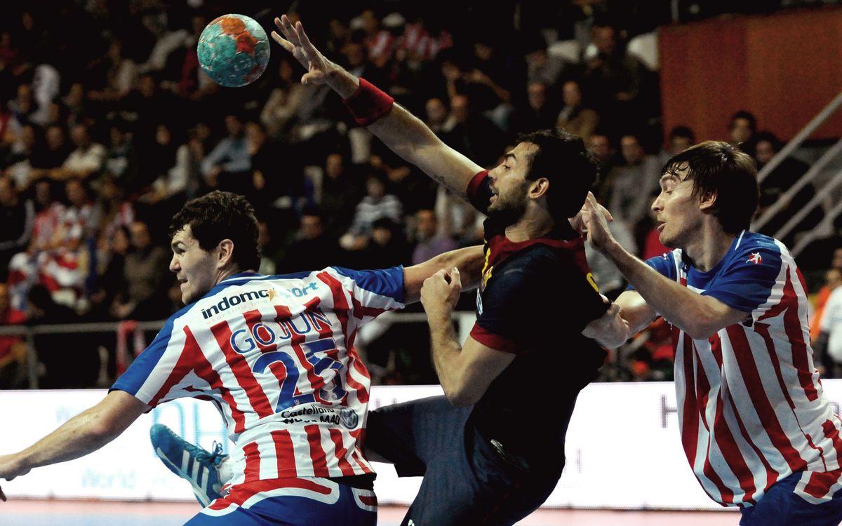 El FC Barcelona d'handbol i la Copa Asobal