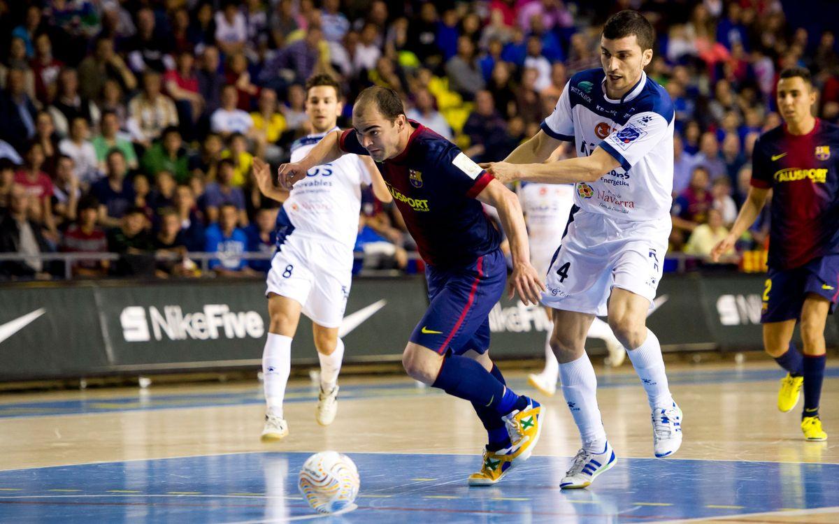 El Barça Alusport s'estrena als play-off a la pista de l'equip revelació de l'LNFS