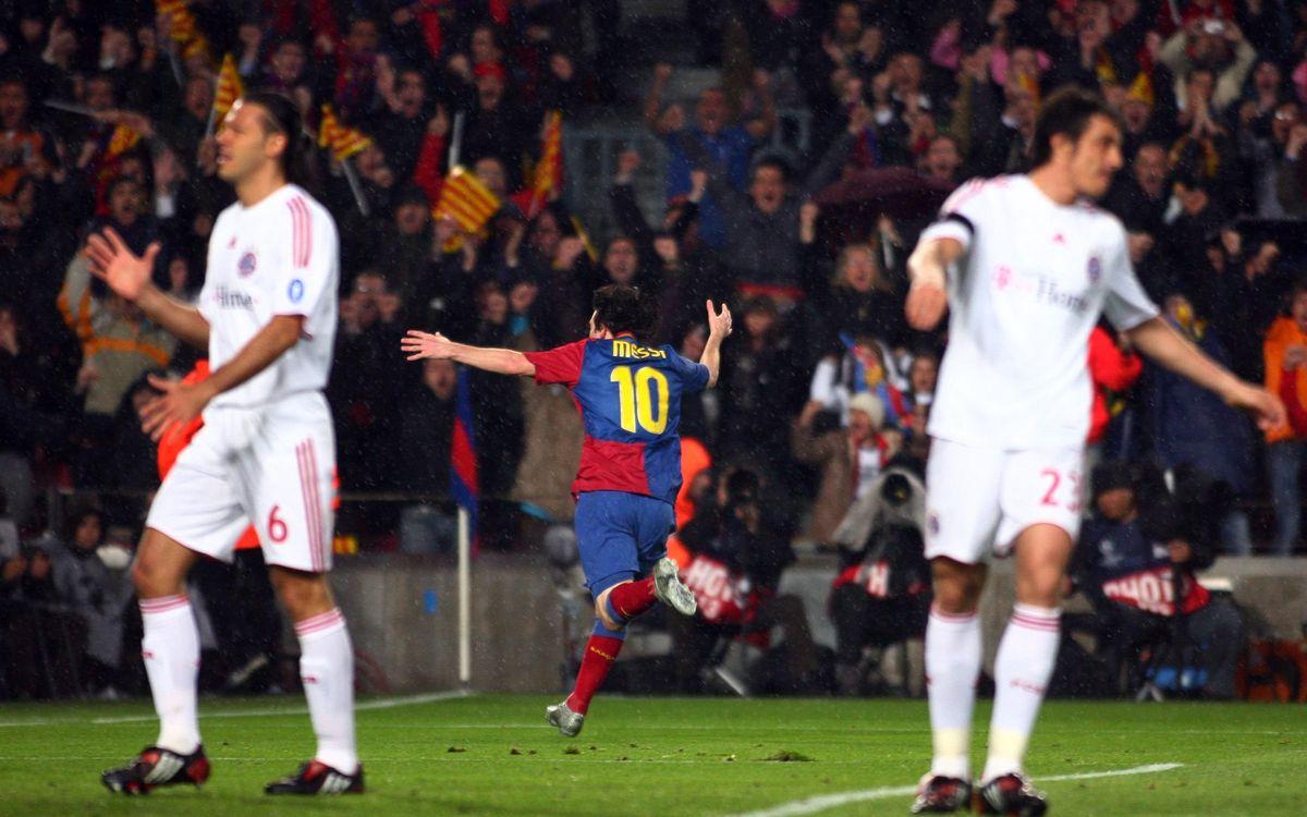 Barça 4, Bayern 0 – from 2009!