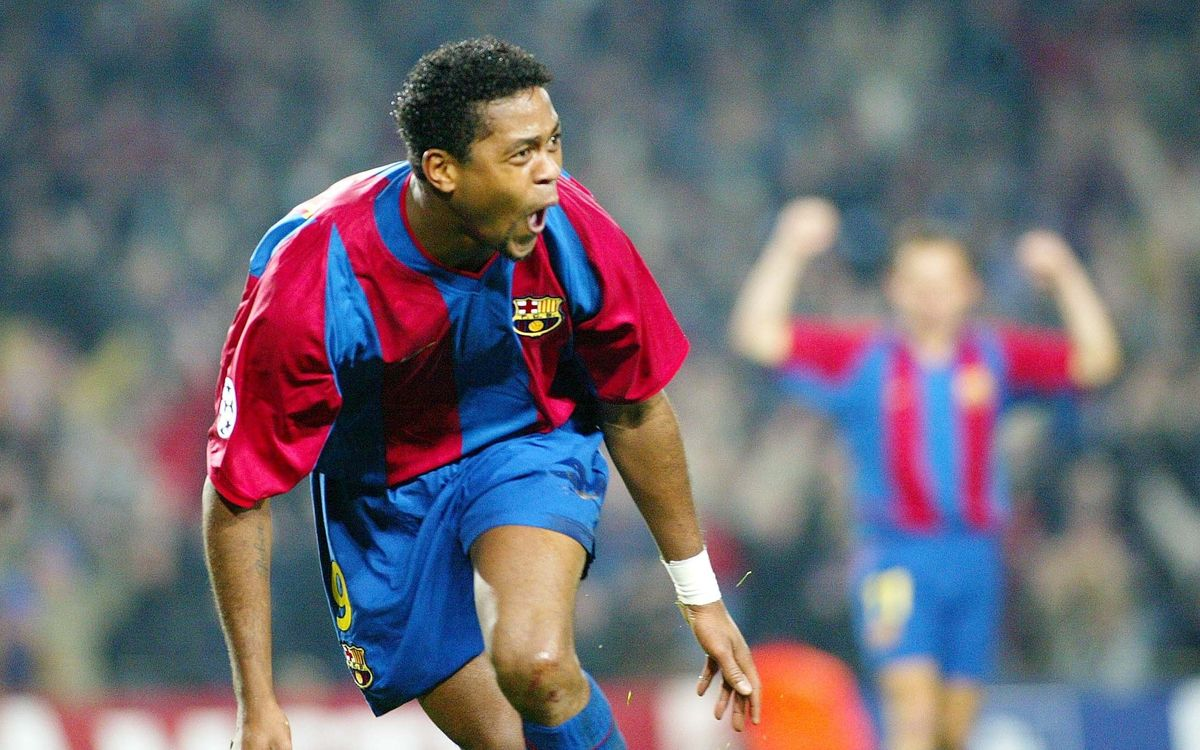 Kluivert, the Nine: top images of the Dutch striker