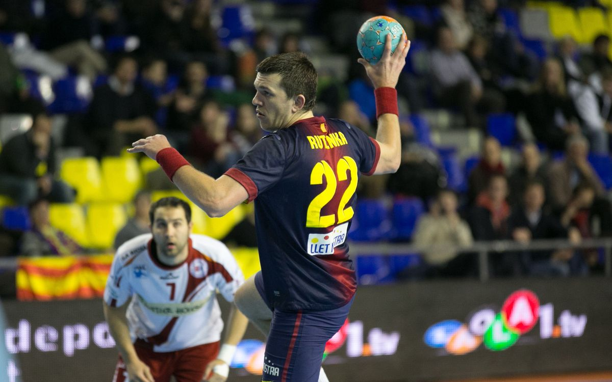 Naturhouse – Barça Intersport: No record for FCB Intersport (33-31)