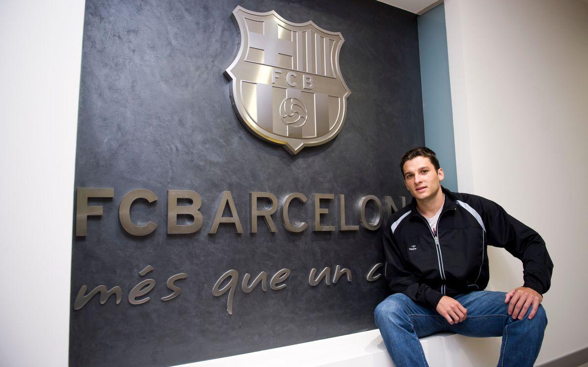 Dyego serà el reforç per a l'equip de Marc Carmona