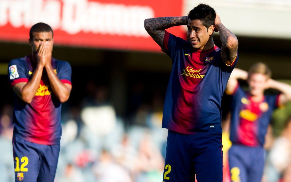 FC Barcelona B-Lugo: Two points slip away (2-2)