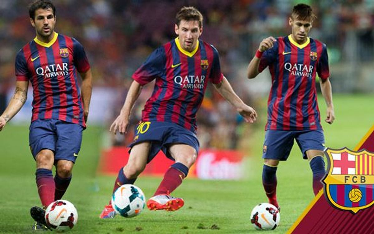 Neymar Jr, Messi and Cesc are three of the Top 6 assist leaders in La Liga