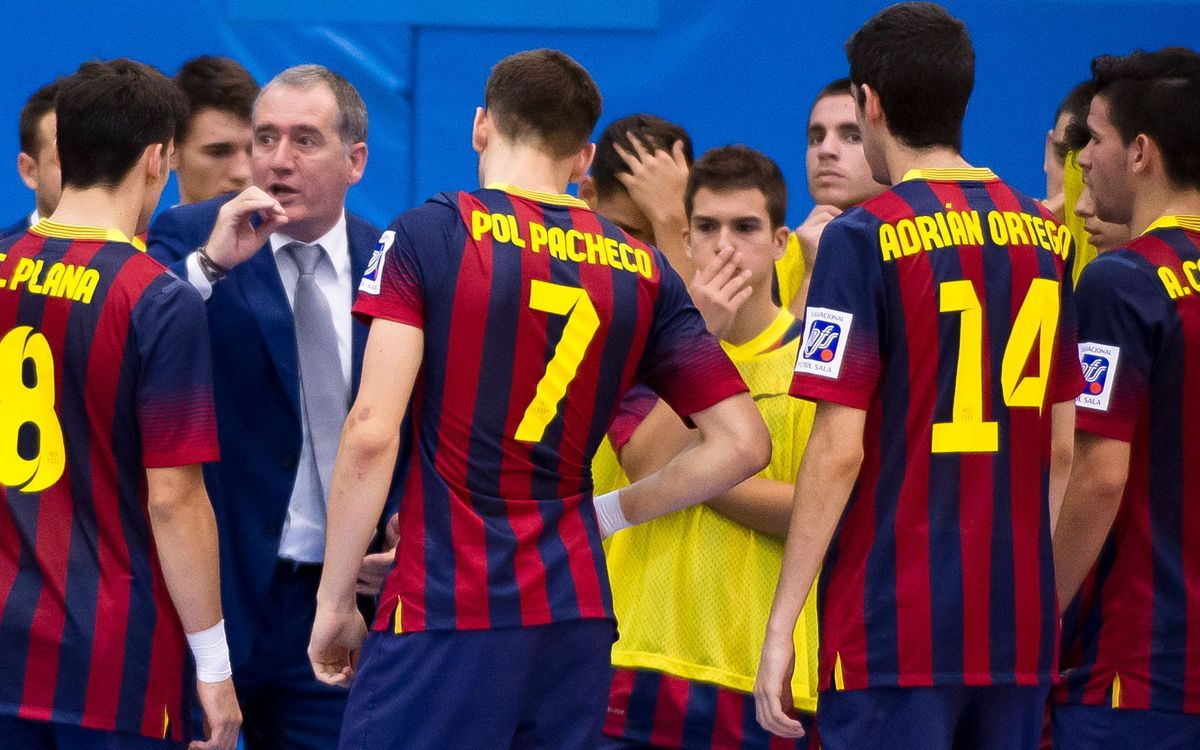 Marc Carmona no ha pogut comptar amb tots els jugadors del primer equip