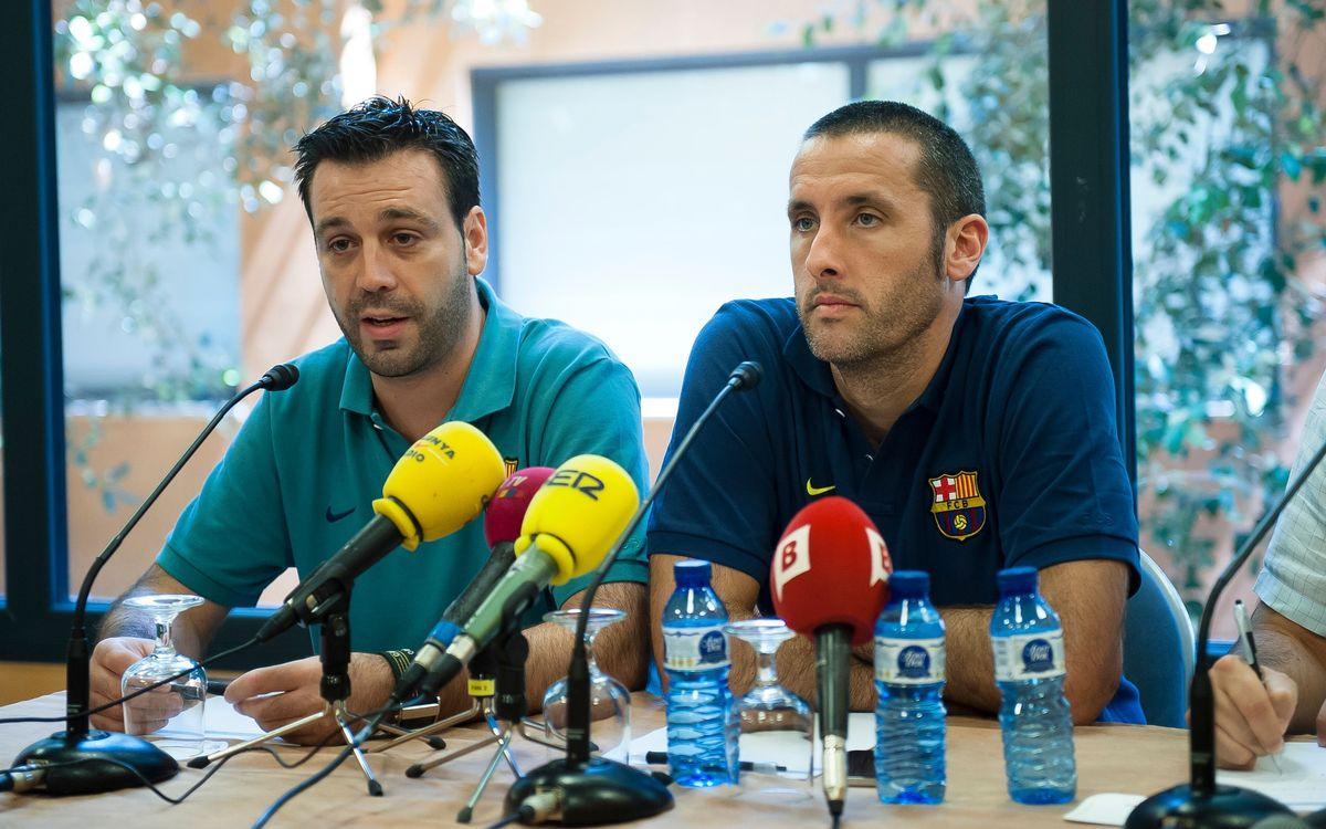 "Ricard Muñoz: ""L'objectiu número u és recuperar l'OK Lliga"""