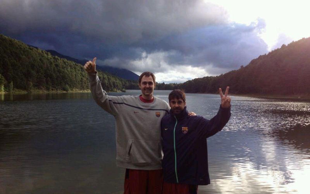 Erazem Lorbek i Juan Carlos Navarro segueixen els terminis de la seva recuperació a Encamp