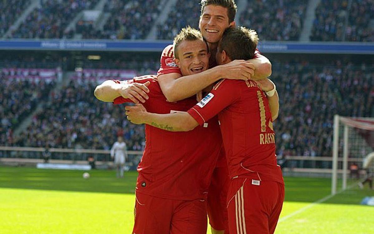 Bayern Munich thrash Nuremberg (4-0)
