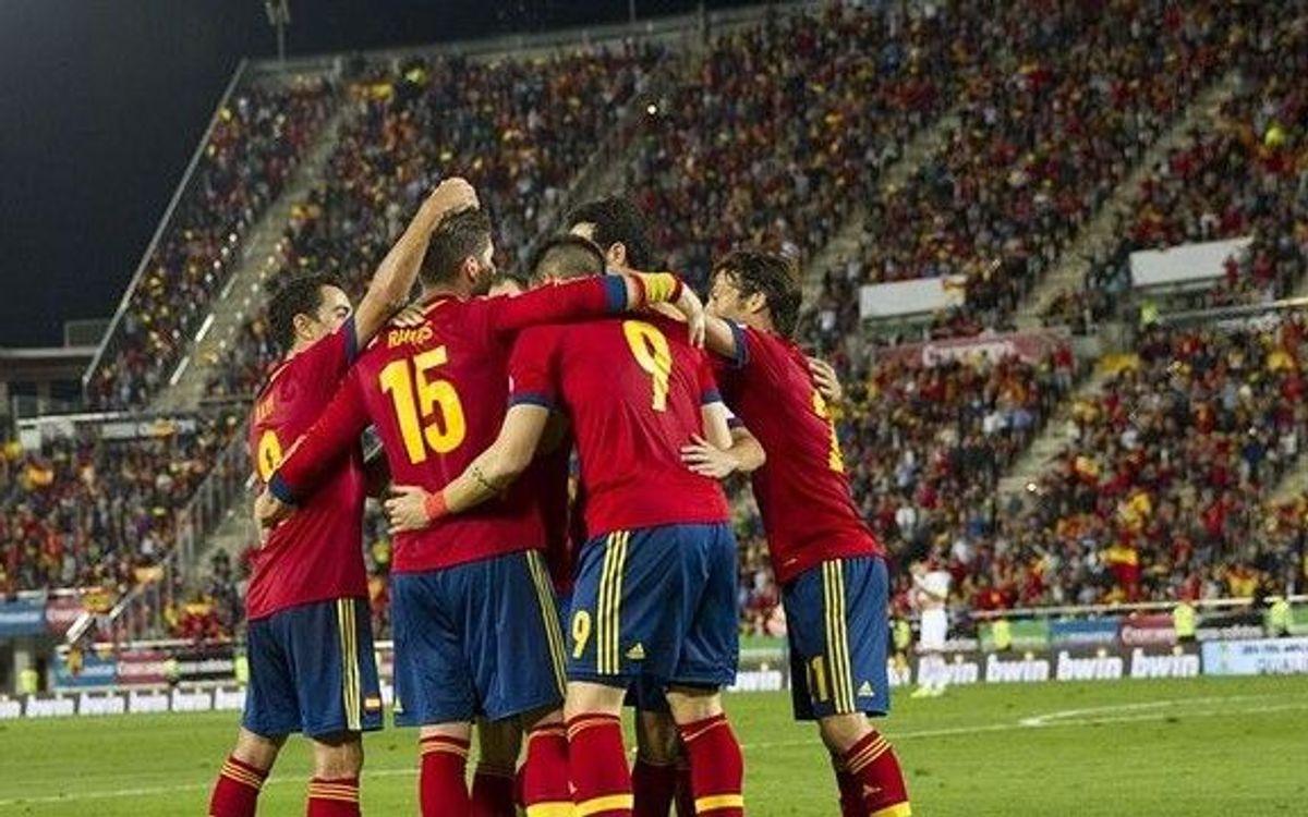 L'Espagne fait un grand pas vers le Mondial, le Chili devra attendre