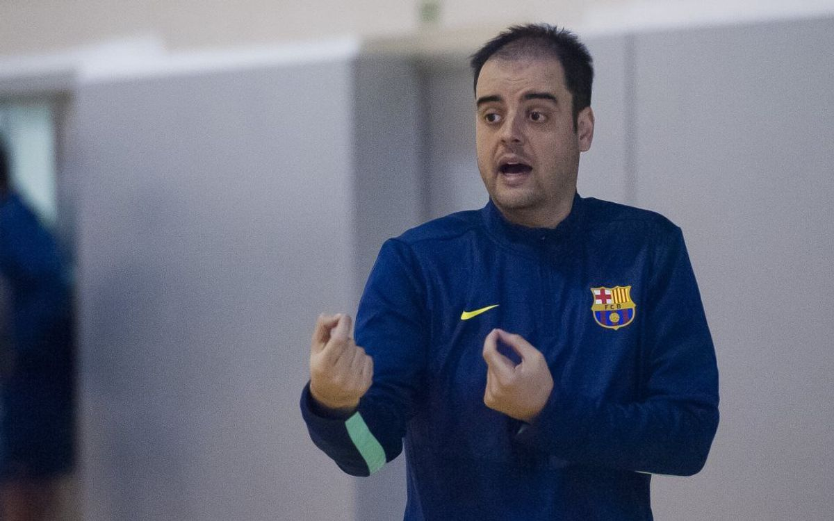 """Íñigo Zorzano: """"No crec que sigui un mà a mà amb el Madrid"""""""