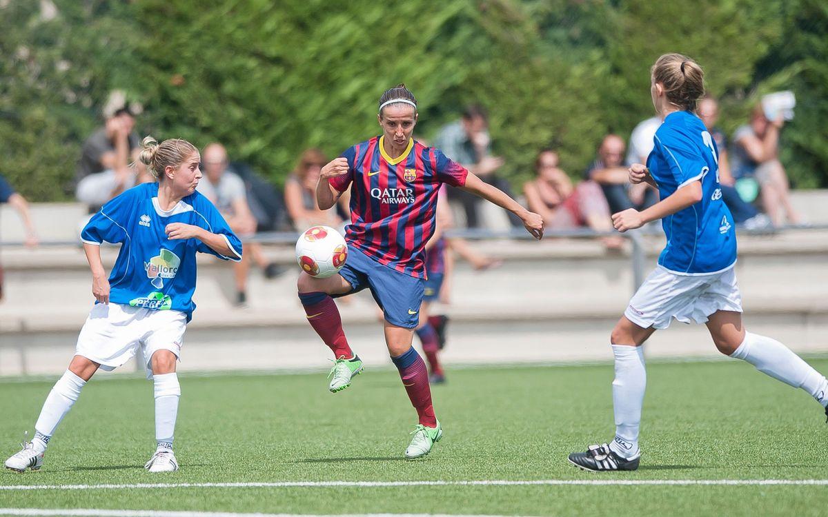 Femení A - Collerenc: Comencen amb bon peu (5-0)