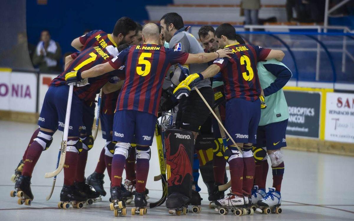 El CP Voltregà – Barça, en dos minuts