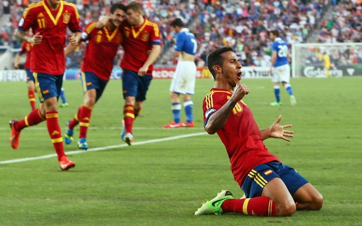 Thiago leads Spain to the U21 Euro title (2-4)