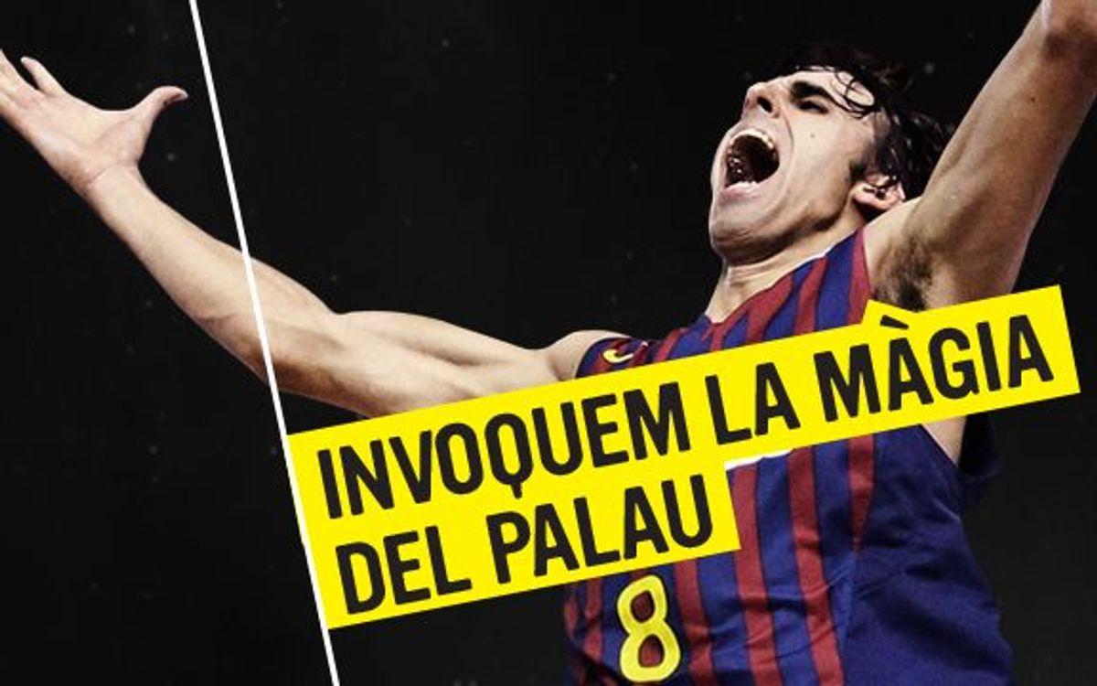 El Barça Regal invoca la màgia del Palau