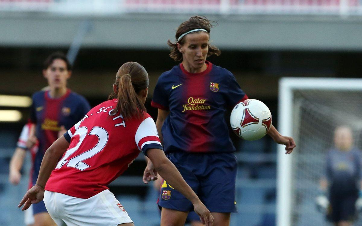 Femení A - Brondby, als setzens de la Champions