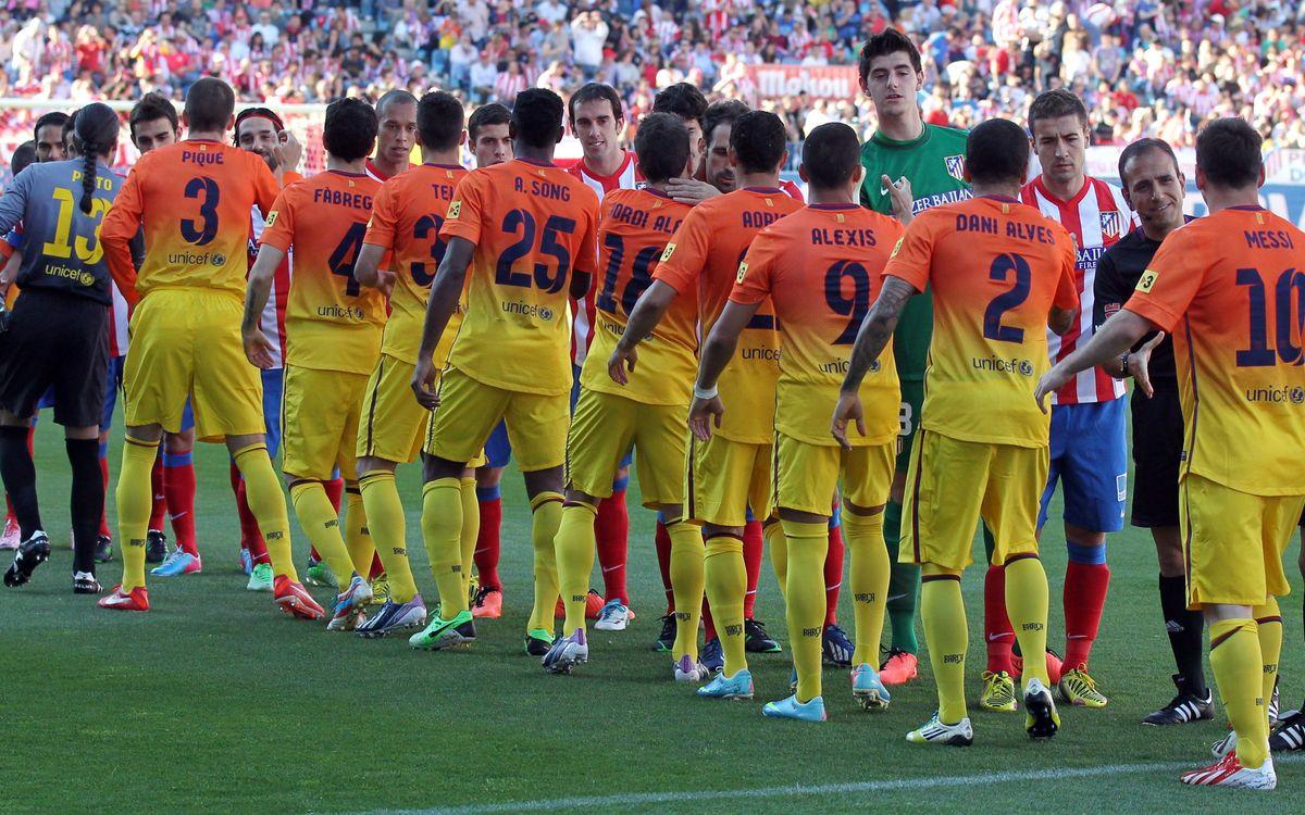 Atlètic de Madrid – FC Barcelona: Cita de campions