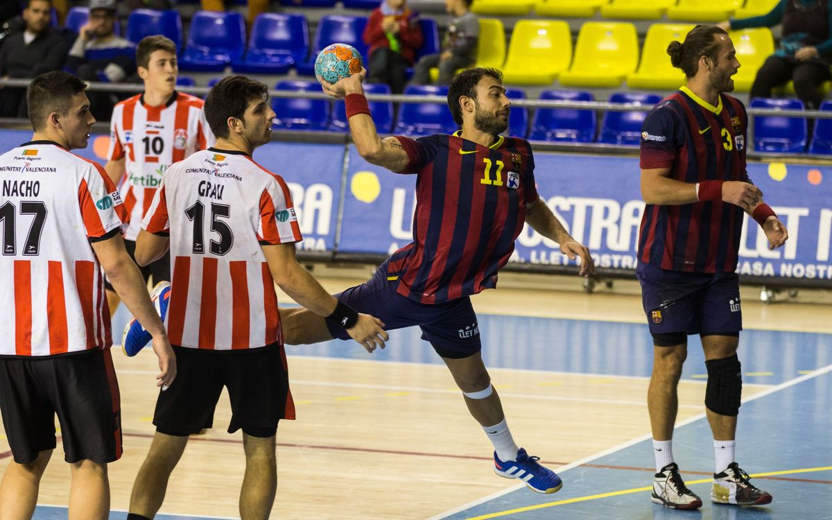 FC Barcelona – Port Sagunt: Unstoppable (43-20)