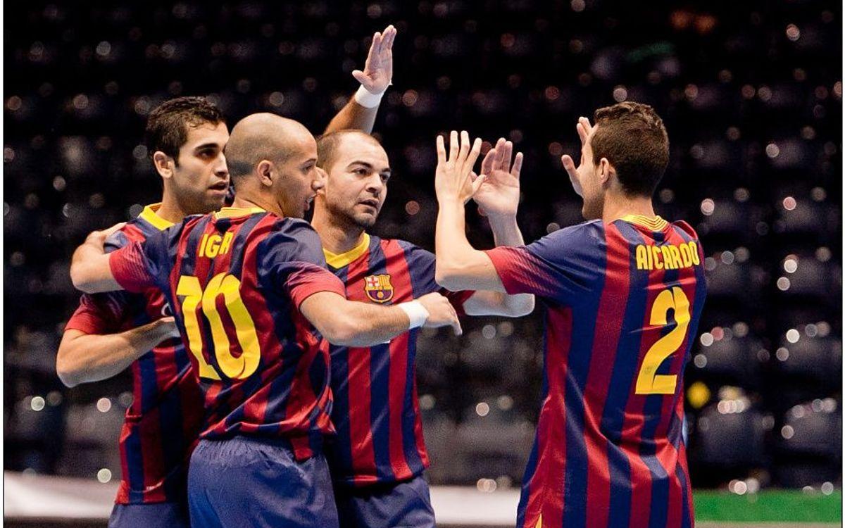 Targu Mures – FC Barcelona Alusport: Crushing victory (1-10)
