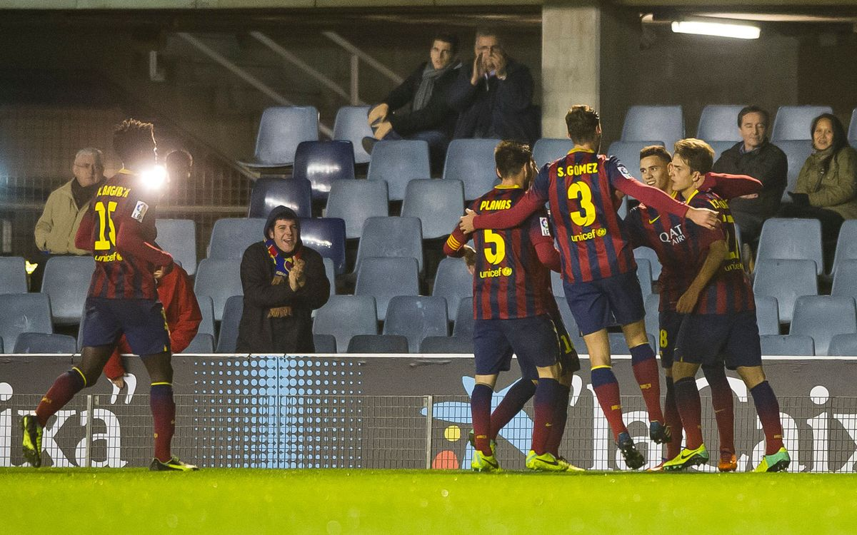 Barça B – Sabadell: first home win in three months (2-0)