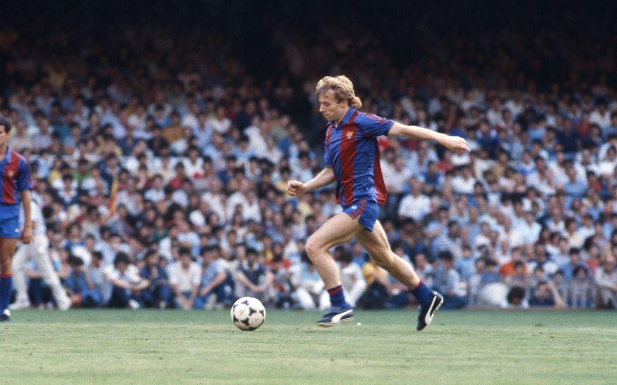 Recordes l'etapa de Steve Archibald al Barça?