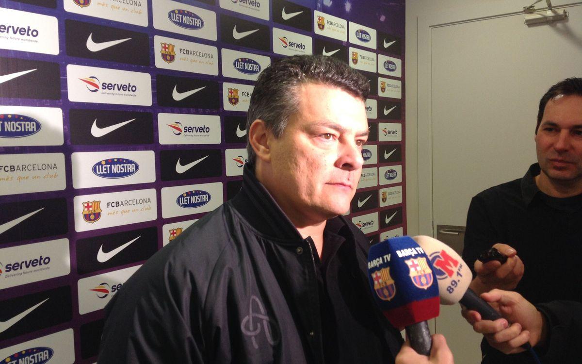 """Xavi Pascual: """"No es pot demanar res més a l'equip"""""""