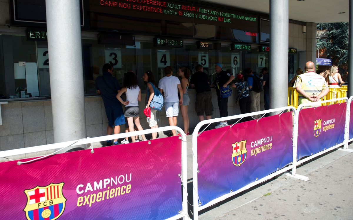 Palau Blaugrana ticketing process set to be improved for children under the age of eight