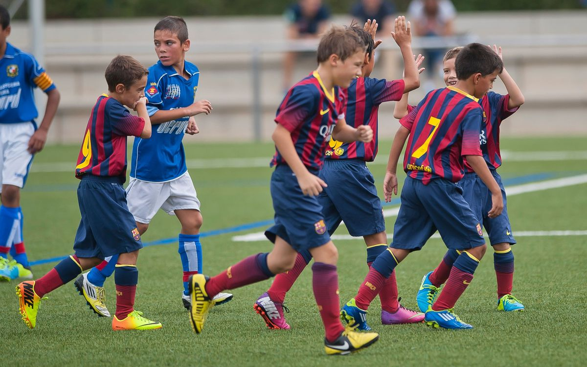 The best Masia teams' goals (November 2nd and 3rd)