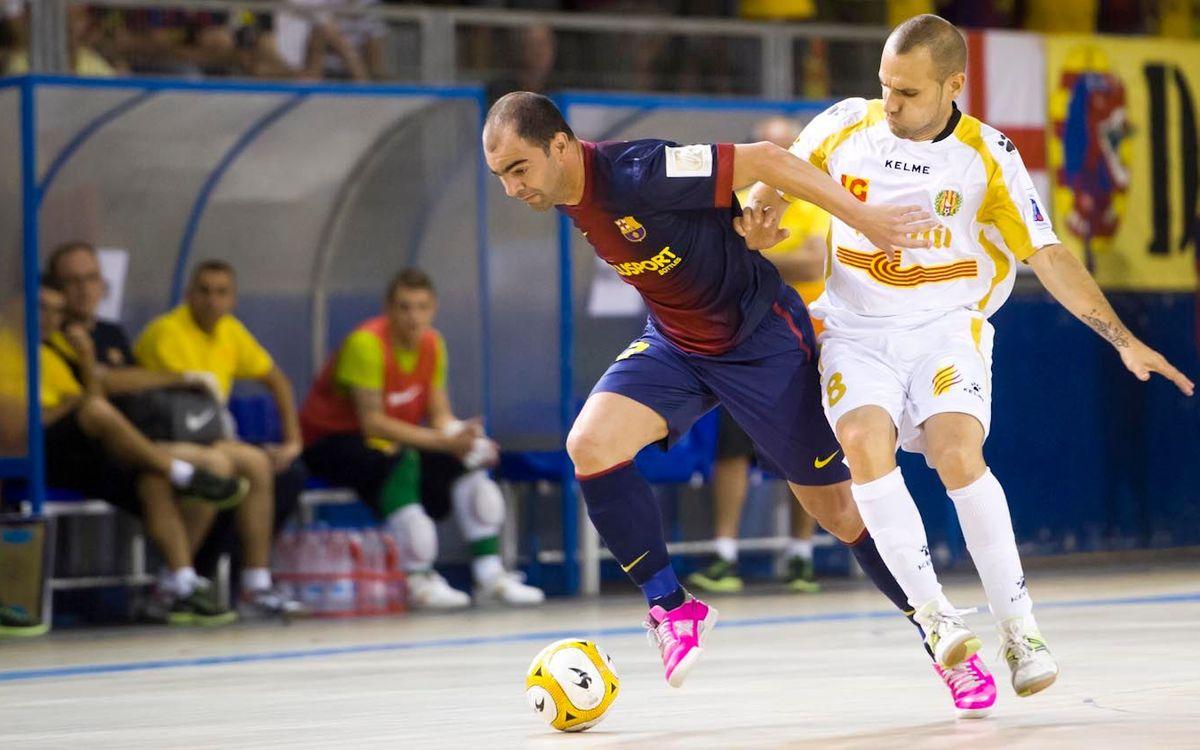 Barça i Marfil reediten la final de la Copa Catalunya de la temporada passada
