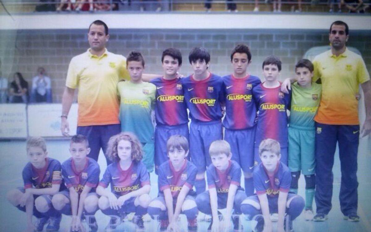 L'Infantil i l'Aleví del Barça Alusport classificats per a la fase final del Campionats d'Espanya